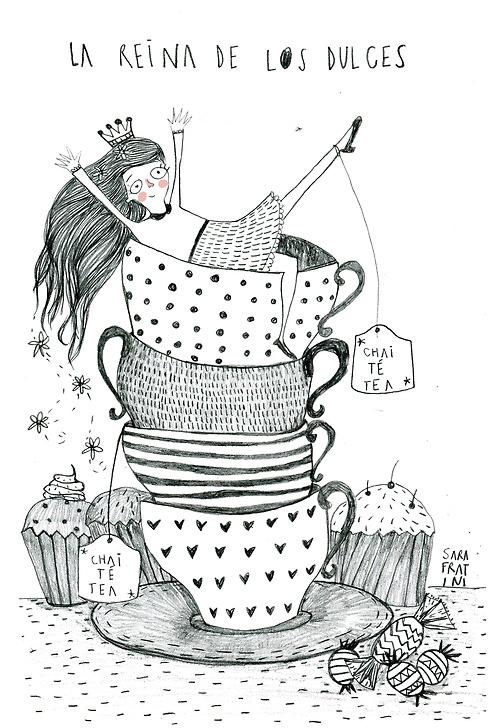 La reina de los dulces, by Sara Fratini