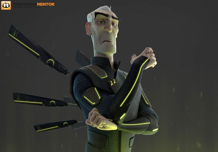 ArtStation - Overlord Rig - Animation Mentor, Joshua Cote