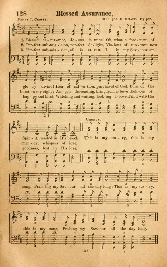 Best 25 blessed assurance ideas on pinterest john 15 16 for Bedroom hymns lyrics