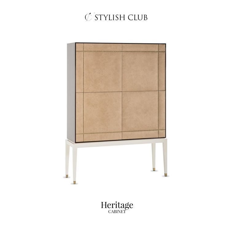 Elevate any occasion with Heritage cabinet bar.