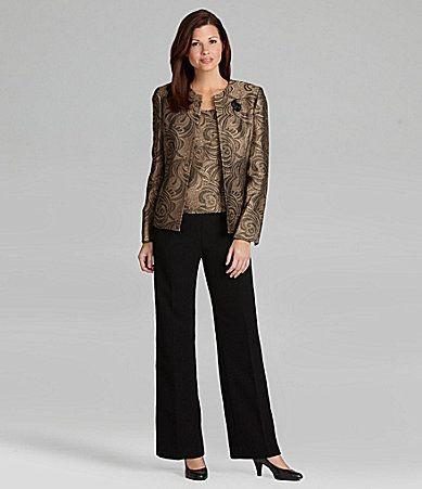 Dillard's Pant Suits for Weddings | Kasper 3-Piece ...