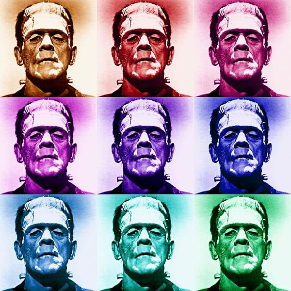 The original Frankenstein's monster as portrayed by Boris Karloff