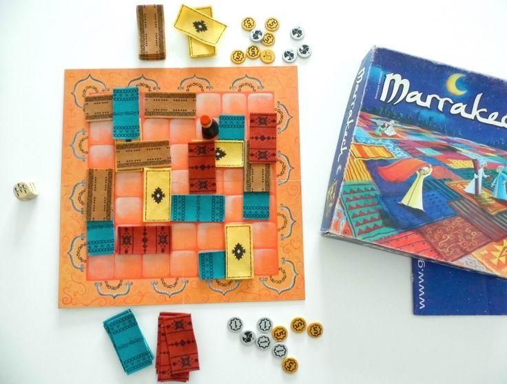 марракеш, настолки для двоих, настольные игры для двоих, игры для интровертов
