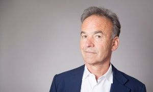 Nick Broomfield, before speaking at a Guardian Live screening of his film Tales of the Grim Sleeper, Amnesty International, London 23 March 2015.