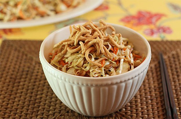 Not so Unique Asian Slaw with Almonds, Sesame and Sunflower Seeds ...