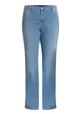 Lichte, rechte jeans met 5 zakken Denim