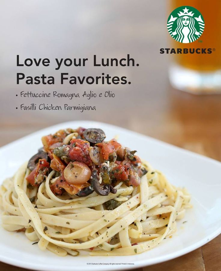 Love your lunches at Starbucks!