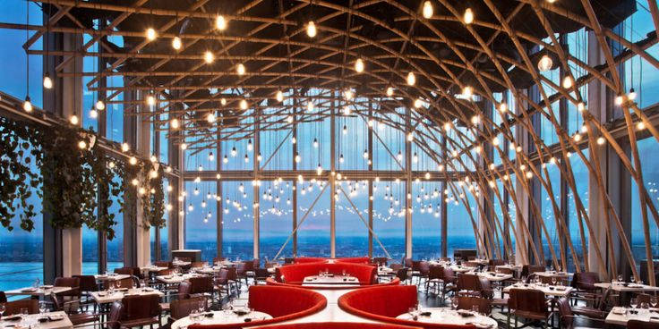 Check out the best rooftop restaurants all over the world: Sushi Samba, London