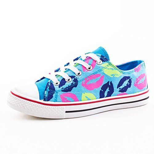 Damen Sneaker Low Top Schuhe Textil Leinen Canvas mit Pri... http://www.amazon.de/dp/B00T87M40K/ref=cm_sw_r_pi_dp_98Ynxb1FYZXYN