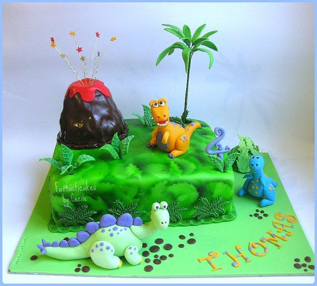 T-Rex Cake Pattern | Torta Dinosauri / Dinosaurs Cake | Flickr - Photo Sharing!