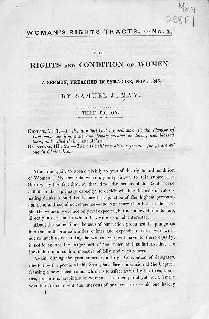 Essay on women rights