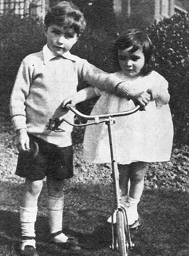 Elizabeth Taylor and her brother