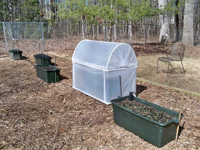 Once I master growing food in the spring and summer, I want to try growing year round.  Love this idea for my Earthboxes!