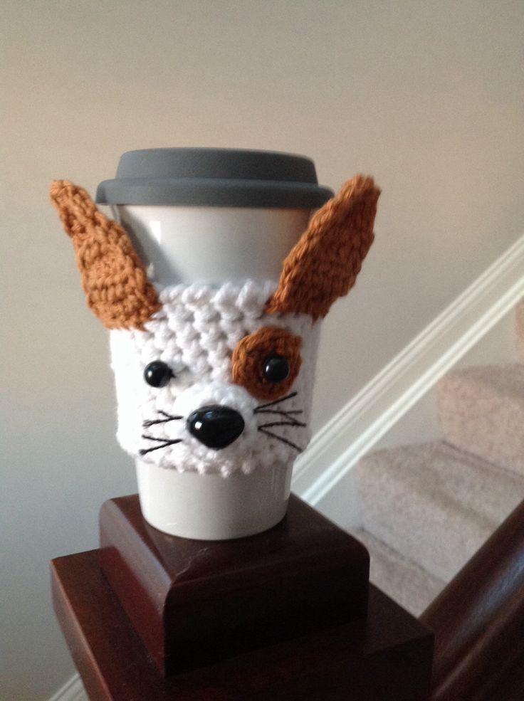 A personal favorite from my Etsy shop https://www.etsy.com/listing/226749503/chihuahua-travel-mug-cozy-dog-cozy