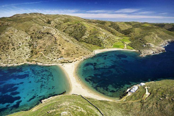 Kythnos island,Kolona beach