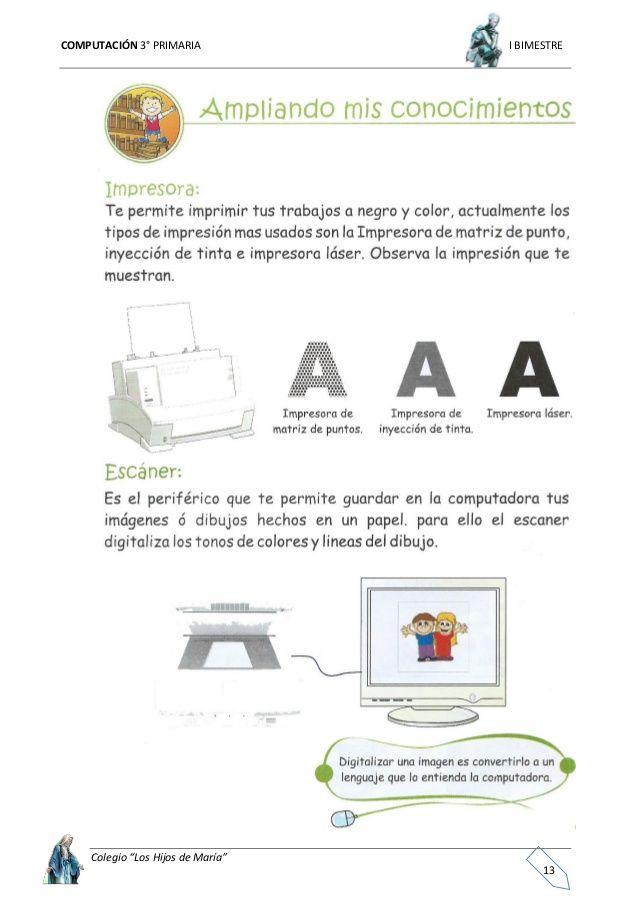 computacion primaria basica 3 | Tecnología | Informática ...