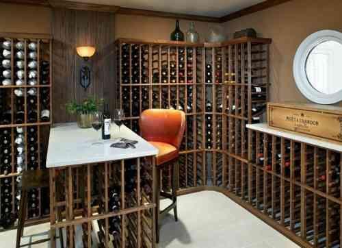 17 meilleures id es propos de caves vin sur pinterest chambres de vin sous sol cave vin for Amenager sa cave