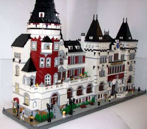 Celje Hall: A LEGO® creation by Subic Vedran : MOCpages.com