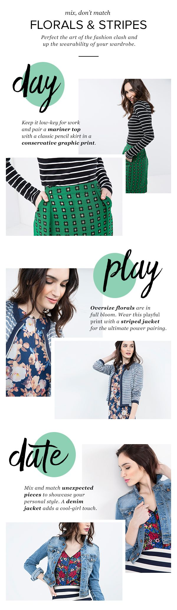 Yes, you CAN pull off floral and stripes. Step out of your fashion comfort zone with thredUP, the largest online consignment shop. Sign up and see why millions of women are thinking secondhand first today.