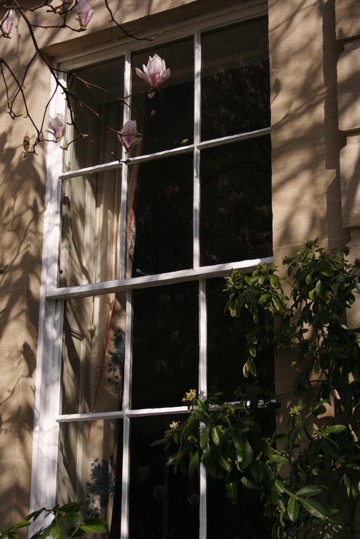 Georgian window in Oxford