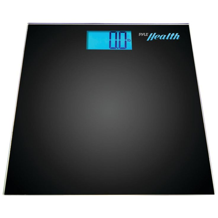 Pyle Pro Bluetooth Digital Weight Scale (black)