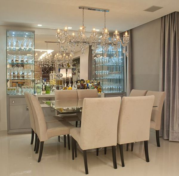 Mesa De Sala De Jantar Preta ~ mesajantarquadrada4  casa  Pinterest  Mesas