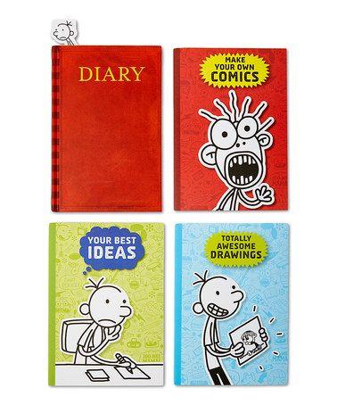 Mejores 33 imgenes de diary of a wimpy kid en pinterest diarios diary of a wimpy kid hardcover journal set zulily zulilyfinds solutioingenieria Gallery