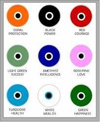 Evil eye color meaning