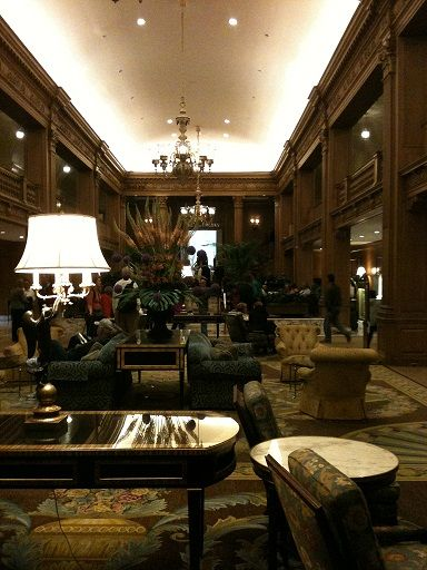 Seattle luxury, Mr. Grey style: The Fairmont Olympic Hotel. | Ffity Shades of Grey | In Theaters Valentine's Day