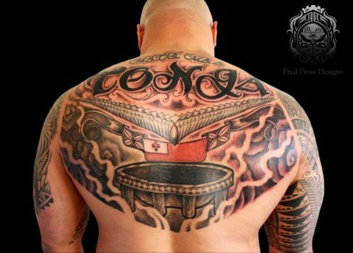 Kalia Tattoo Tonga
