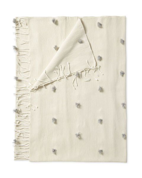 This throw from Serena & Lily is the perfect Valentine's Day gift for a girlfriend or wife.