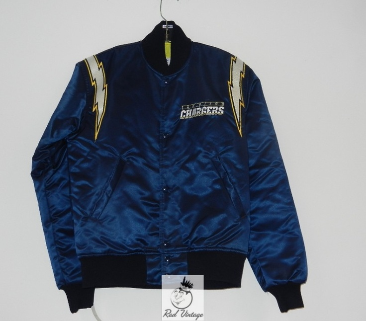 San Diego Chargers Starter Jacket Could It Be Satin