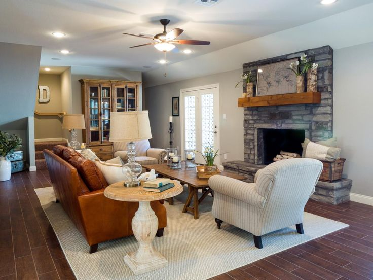 Top 25 best fixer upper show ideas on pinterest for Fixer upper living room designs