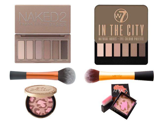 Los clones de maquillaje no son más que imitaciones low cost de cosméticos que tiene éxito entre las consumidoras