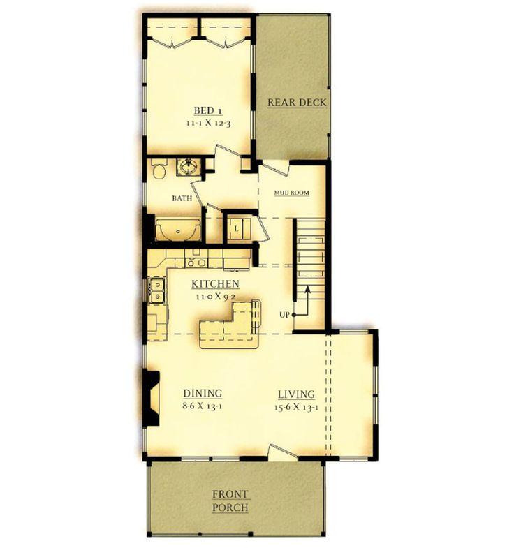 Glendon 2br first floor plan option 2 heritage sands Nantucket floor plan