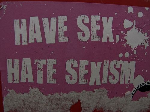 have sex, hate sexism  sex positive feminism ftw!