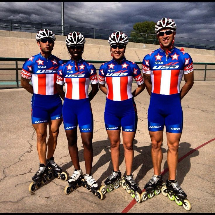 Team USA Inline speed skate.