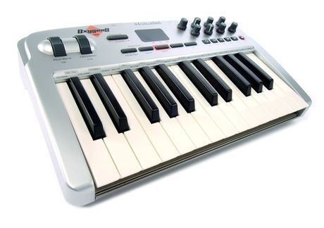 M-Audio Oxygen 8v2. Still one of the best MIDI keyboards out there...