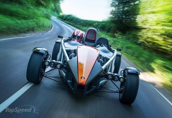 Ariel Atom - Top Speed