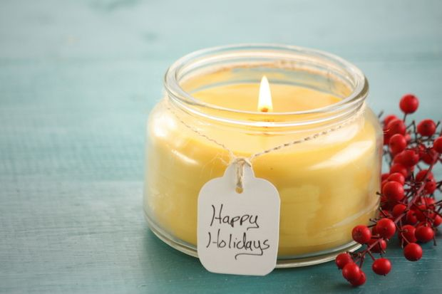 How to Make Beeswax Candles. These candles are healthier than soy because soy is a genetically modified crop, and paraffin candles emit carcinogens.