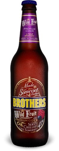 Brothers Wild Fruit - 7/10 - Sweet and fruity, but not as syrupy as some similar ciders. Still a bit of a syrupy finish, but quite crisp and drinkable. Strong blackcurrant flavour. Becomes a bit 'much' by the end of the bottle - Would buy again