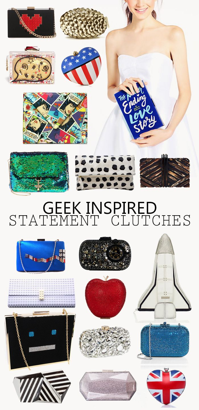 20 Clutches For A Geek Wedding - When Geeks Wed