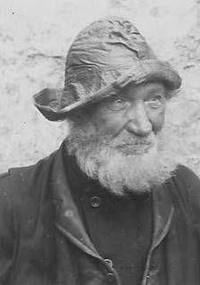 Old Fisherman East Neuk of Fife Scotland