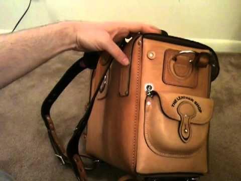 Moose Leather Shop EXPEDITION BAG / duffel / travel -- saddleback leathe...