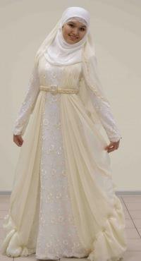 Сшить платье мусульманское на свадьбу