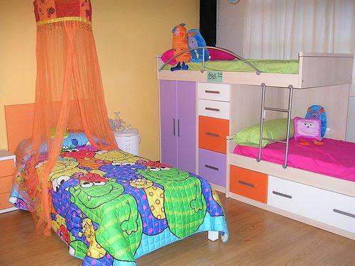 La decoración INCREÍBLE para el cuarto de tus 3 hijos
