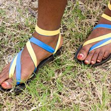 Twisted Slip On Sseko Sandals