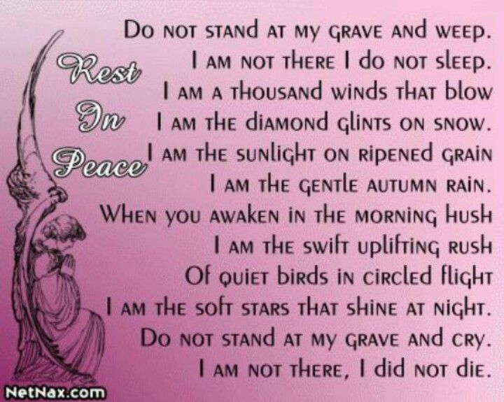 Rest In Peace Mom Quotes And Sayings. QuotesGram