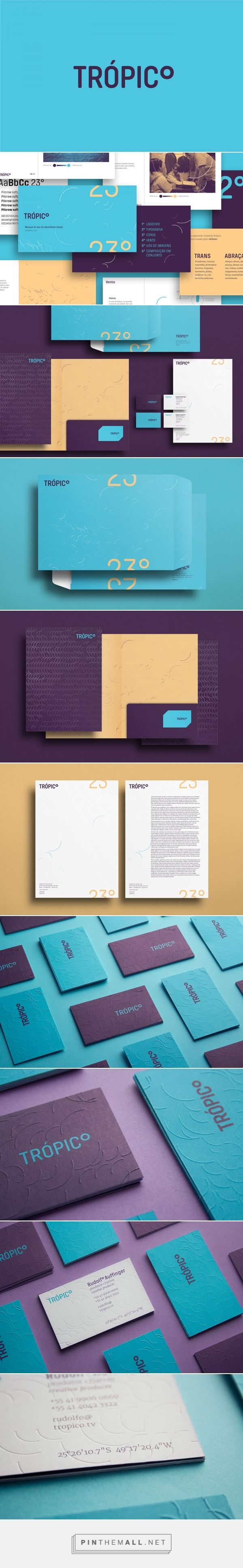 Tropico Production Company Branding by Carlos Bauer | Fivestar Branding Agency – Design and Branding Agency & Inspiration Gallery