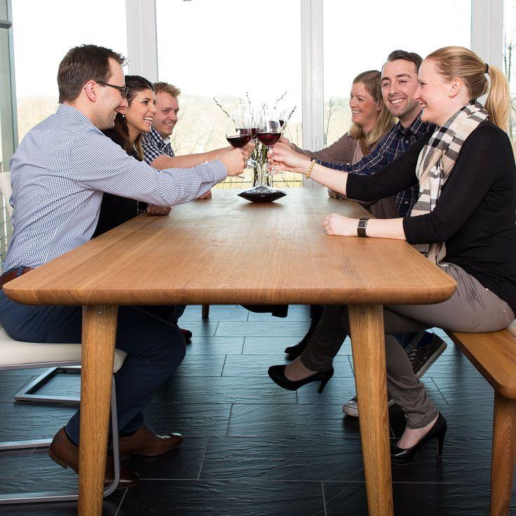 24 best tischkanten holzgesp r images on pinterest beams dining room and dining table bench. Black Bedroom Furniture Sets. Home Design Ideas